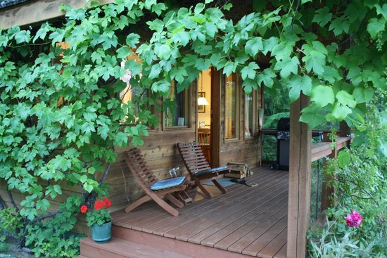 Wing Creek Resort : Porch of the cabin