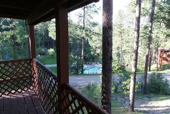 Powder House Lodge : view from the porch