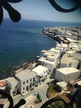 Nisyros: mandraki from the monastery