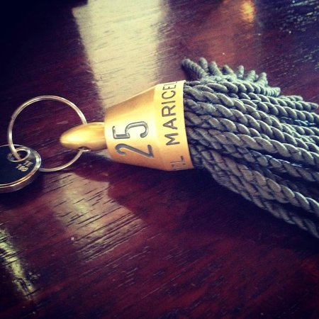 Hospes Maricel Mallorca & Spa: La llave de nuestra habitación