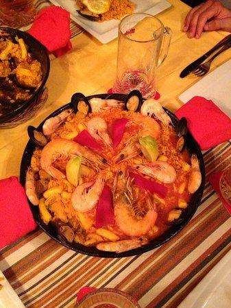 La Taberna: Paella mista