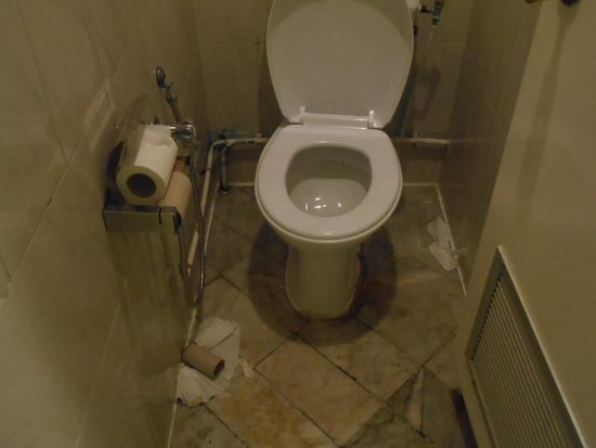 Nahrawess Hotel : Toilettes de l'hôtel