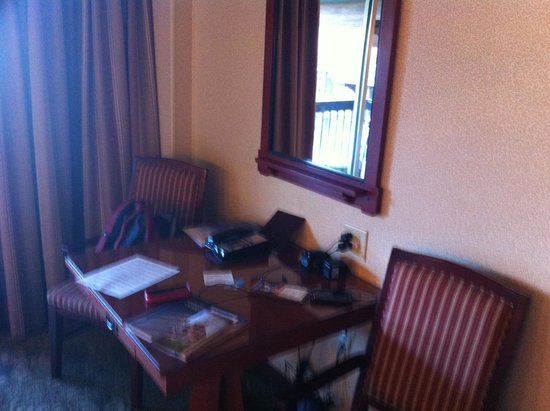 Disney's Grand Californian Hotel & Spa: Desk