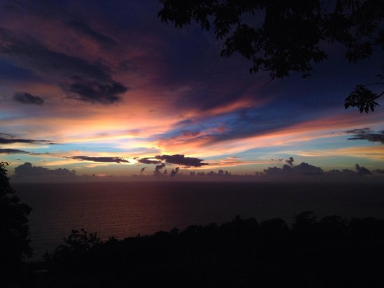 Karon View Point : Sunset