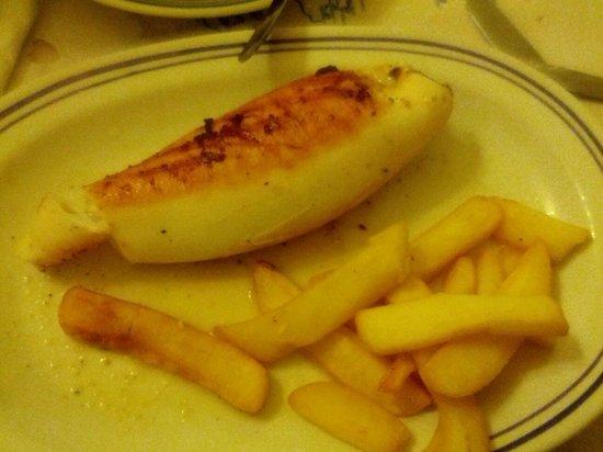 Taverna Kostas : Calamaro con feta
