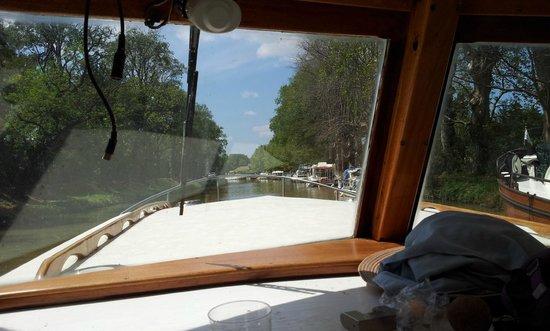 Maison Eloi Merle : De l'intérieur du bateau