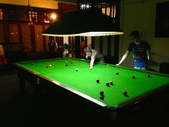 Hotel Suisse: Snooker