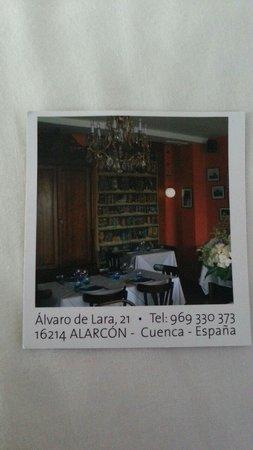 La Cabana de Alarcon: Por si acaso.