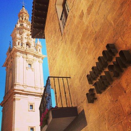 Parador de Santo Domingo de la Calzada : Side of Parador