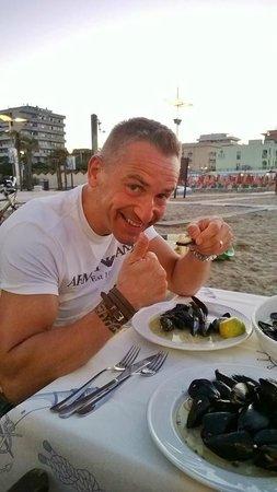 La Piazzetta : il mio ragazzo e le cozze alla marinara