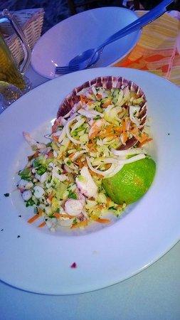 La Piazzetta : insalata di mare