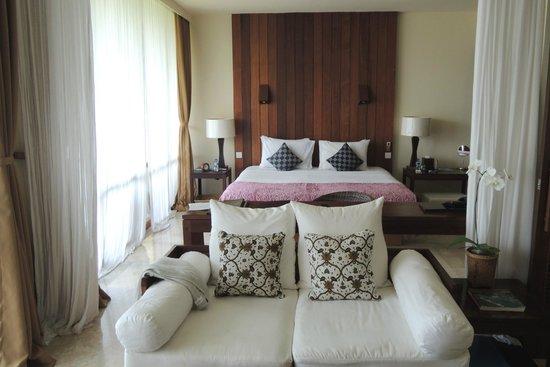 Komaneka at Bisma : La suite, côté lit