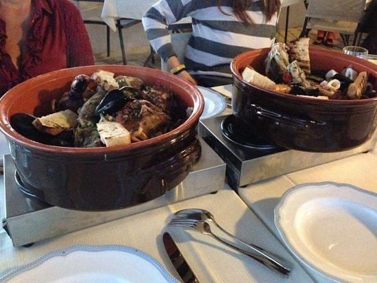 Park Hotel & Terme Romantica: ottima zuppa di pesce
