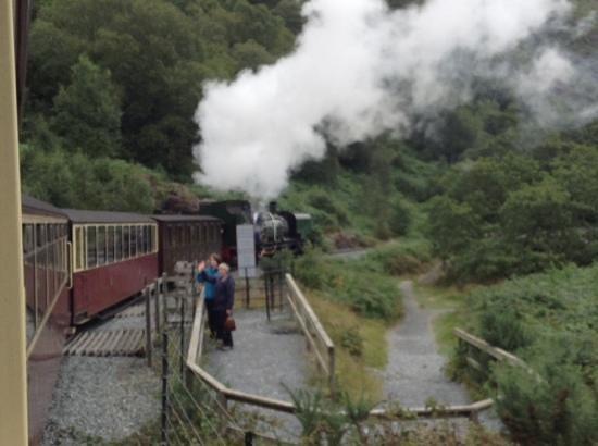 Ffestiniog & Welsh Highland Railways: steaming off