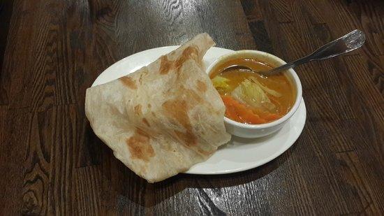Penang Malaysian Cuisine: roti canai