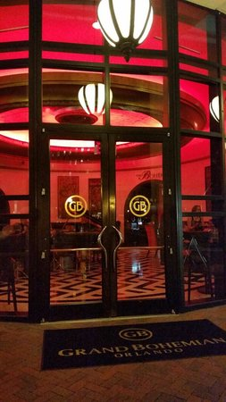 Grand Bohemian Hotel Orlando, Autograph Collection: restaurant front entrance