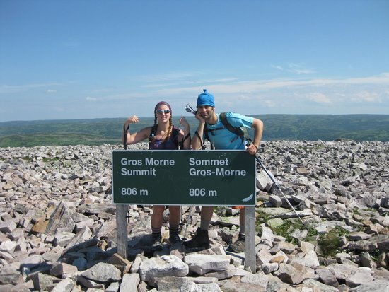 Rocky Harbour, Canada: at the top!