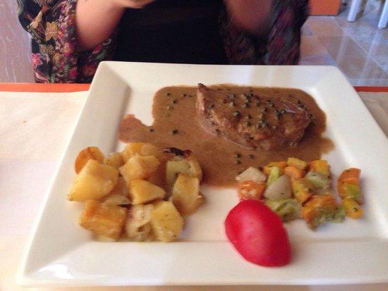 Chez Fatroucha : Filet de boeuf!