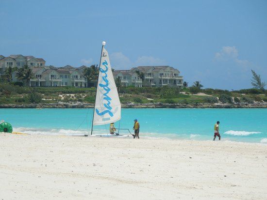 Sandals Emerald Bay Golf, Tennis and Spa Resort: Hobie Cats