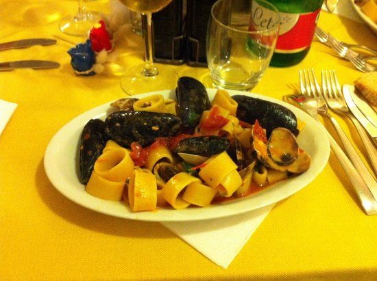 Hotel Villa Sirena : cena di ferragosto pesce