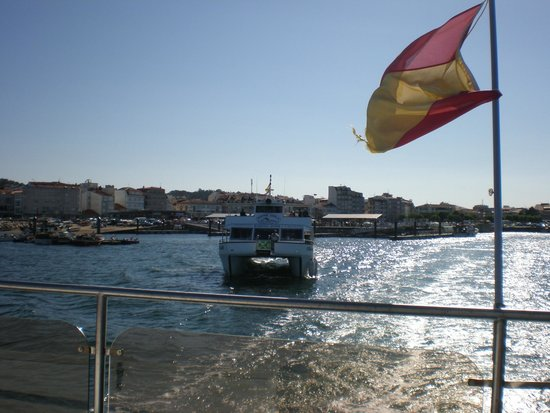 Cruceros Rias Baixas: the cruise