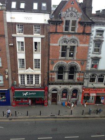 Dublin Citi Hotel: balcone