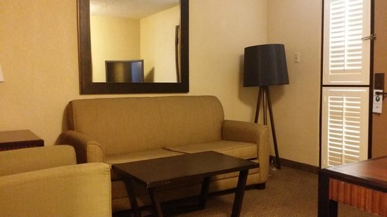 Embassy Suites by Hilton Hotel Phoenix - Tempe: Living room area