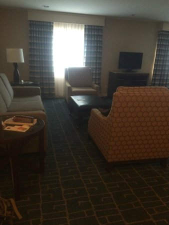 DoubleTree Suites by Hilton Hotel Charlotte - SouthPark: Living Room 2
