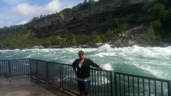 White Water Walk : by the rapids
