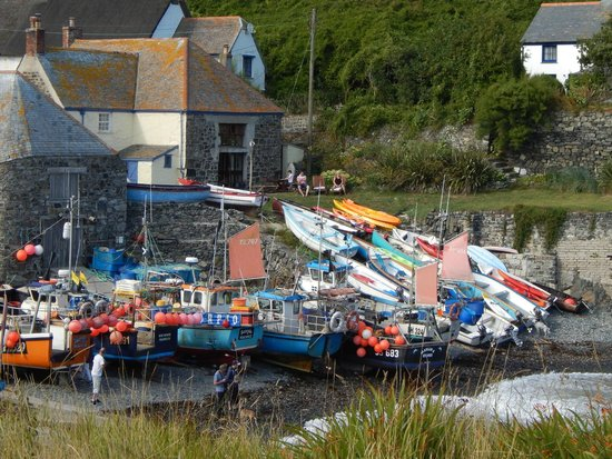 Cadgwith Cove Inn : Lovely view