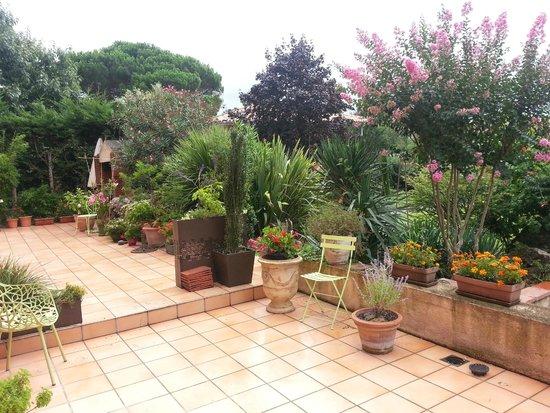 Villa Danieli : The Patio Area