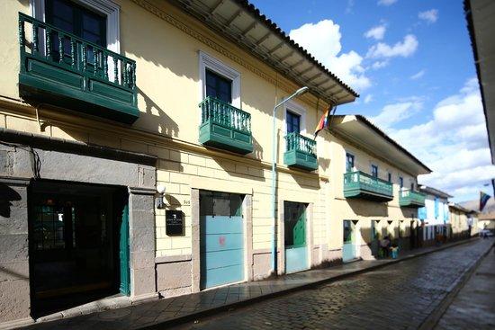 Casa Andina Classic Cusco Koricancha: Fachada