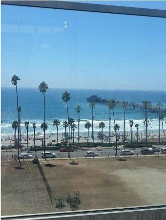 SpringHill Suites San Diego Oceanside/Downtown: View from rooftop pool!