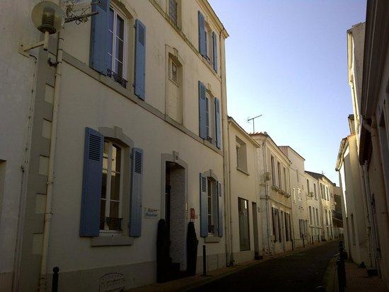 Maison Richet: vue de la rue de la patrie