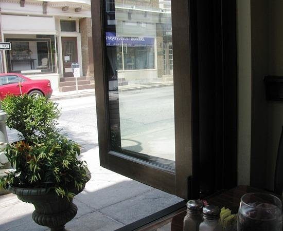 McCloskey's Restaurant: View from Front Window