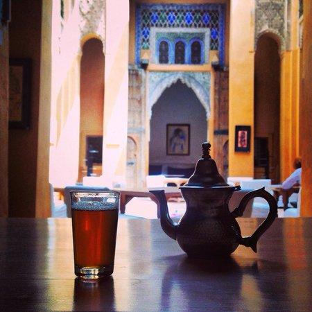 Dar Cherifa: tea time