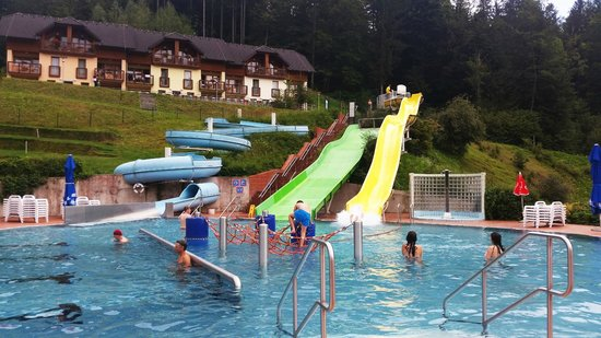 Terme Snovik: Outside pool