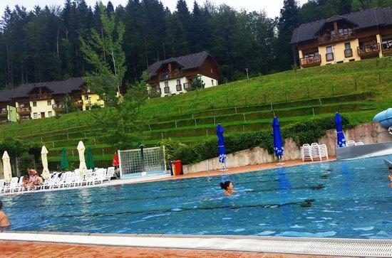 Terme Snovik: Outside pool