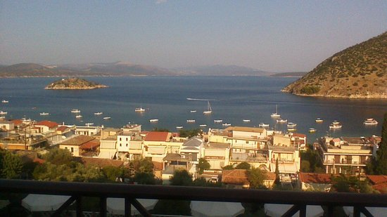 Hotel King Minos: view from hotel balcony