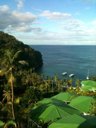 Anse Chastanet: View from Hillside Deluxe room