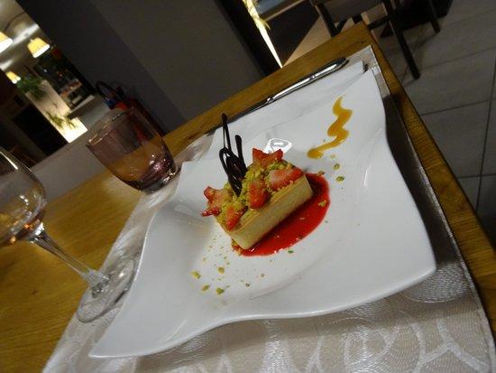 Hotel-Restaurant l'Espadon : tartelette fraise