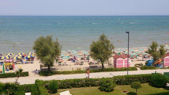 Hotel Ruhig : Vista mare dalla camera