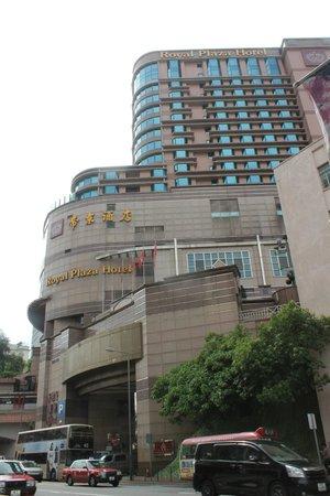 Royal Plaza Hotel: façade