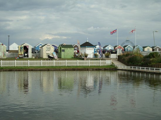 Southwold Boating Lake and Cafe: view from the tea room