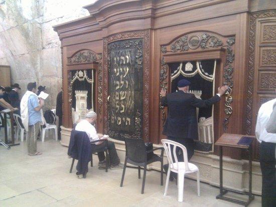 Mur des lamentations : De Synagoge