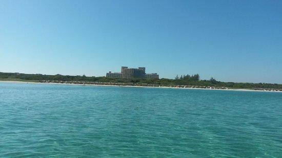 Blau Varadero Hotel Cuba: View of the hotel from the sea - Blau Varadero