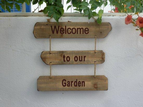 Cyclades Hotel and Studios: bienvenue dans notre jardin