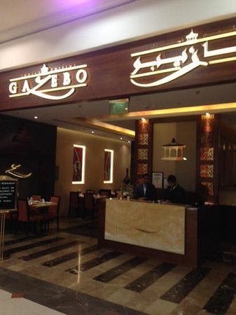Gazebo Restaurant : The restaurant in deira city centre