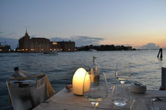 Riviera : Coucher de soleil