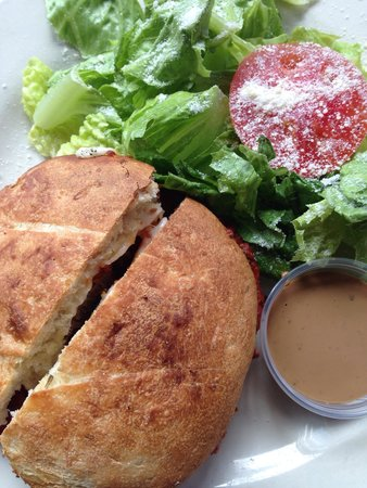 Angeli On Decatur : Meatball sandwich